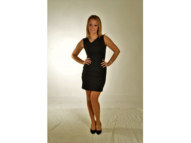 Caterina ruha - fekete - 34