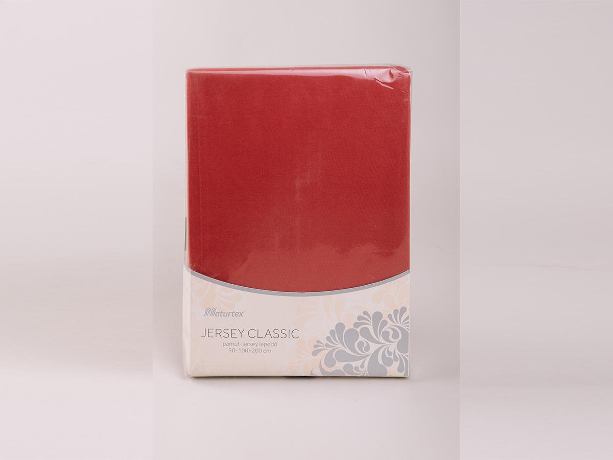 Jersey gumis lepedő 180-200x200cm - FAHÉJ