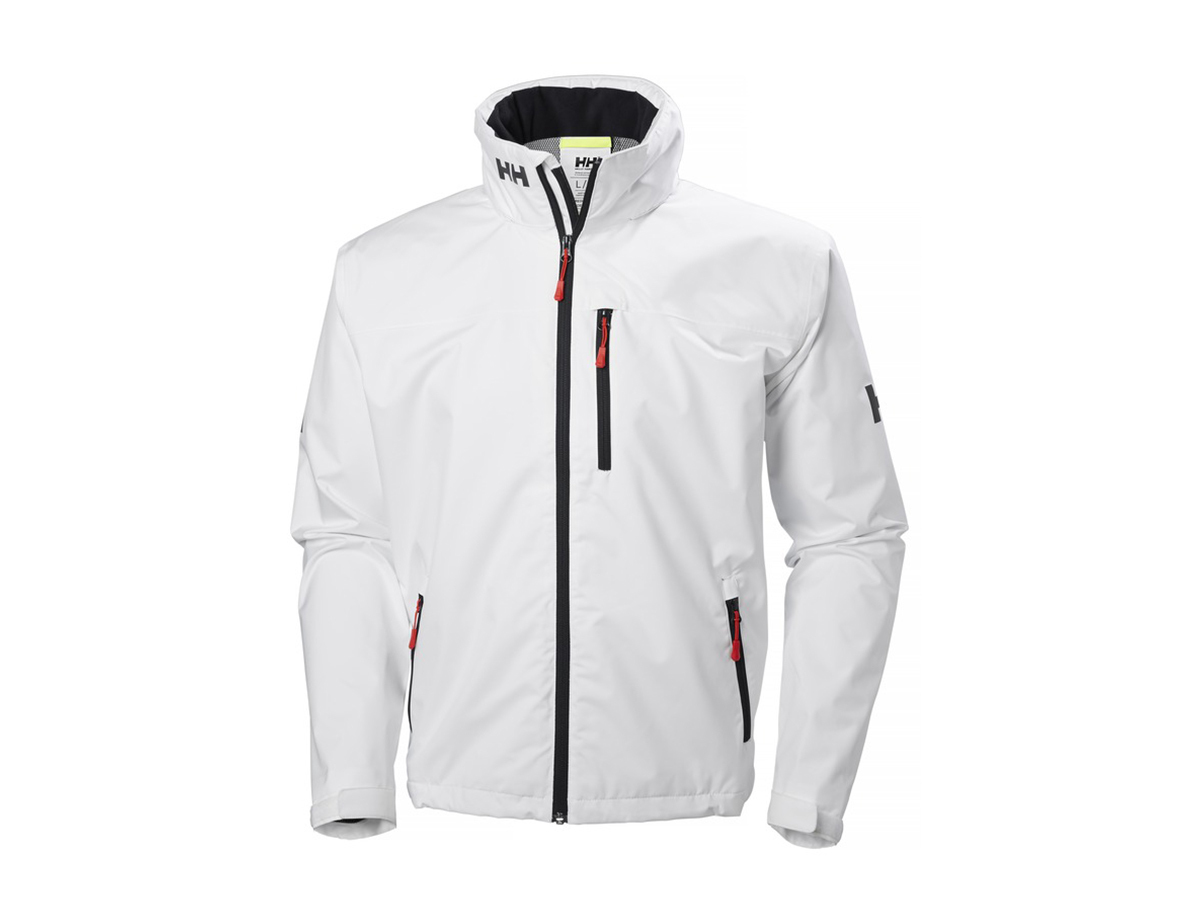 Helly Hansen CREW HOODED JACKET WHITE XL (33875_001-XL)