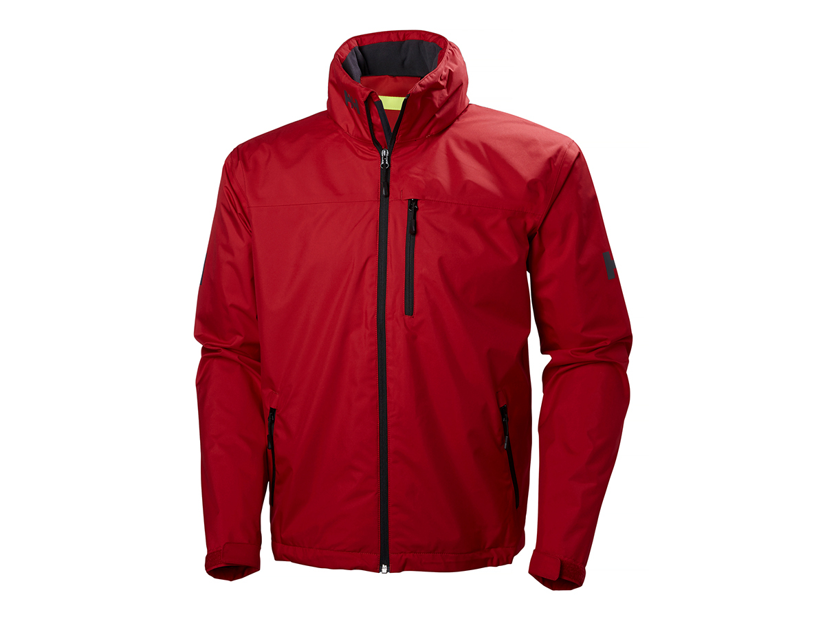 Helly Hansen CREW HOODED JACKET RED S (33875_162-S)