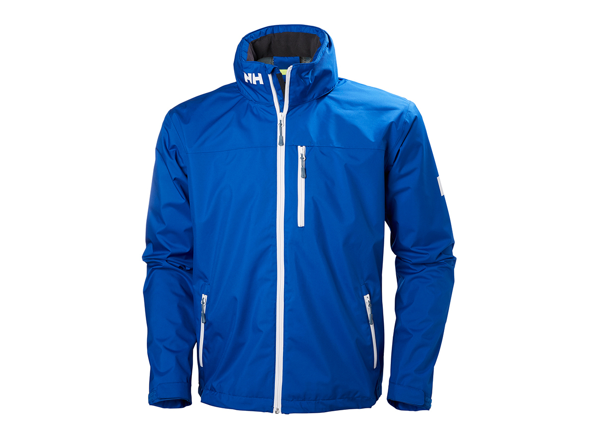 Helly Hansen CREW HOODED JACKET OLYMPIAN BLUE S (33875_563-S)