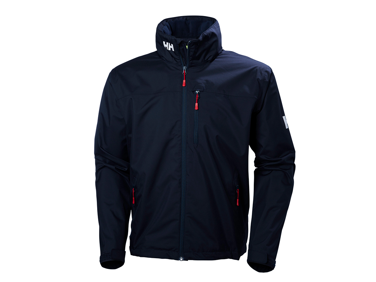 Helly Hansen CREW HOODED JACKET - NAVY - XXXXXL (33875_597-5XL )