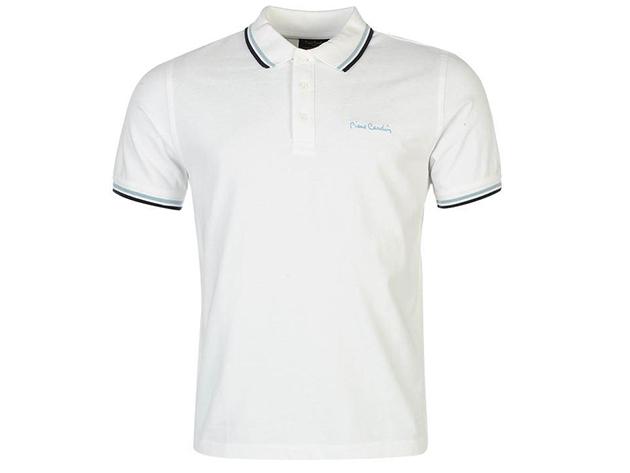 Pierre Cardin Tipped férfi galléros póló - 54077901 - fehér - L