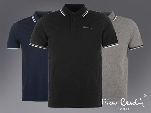 Pierre Cardin galléros póló 4 színben / puha, gyorsan száradó pamut-poliészter anyag, S-4XL méret, sportosan elegáns fazon.