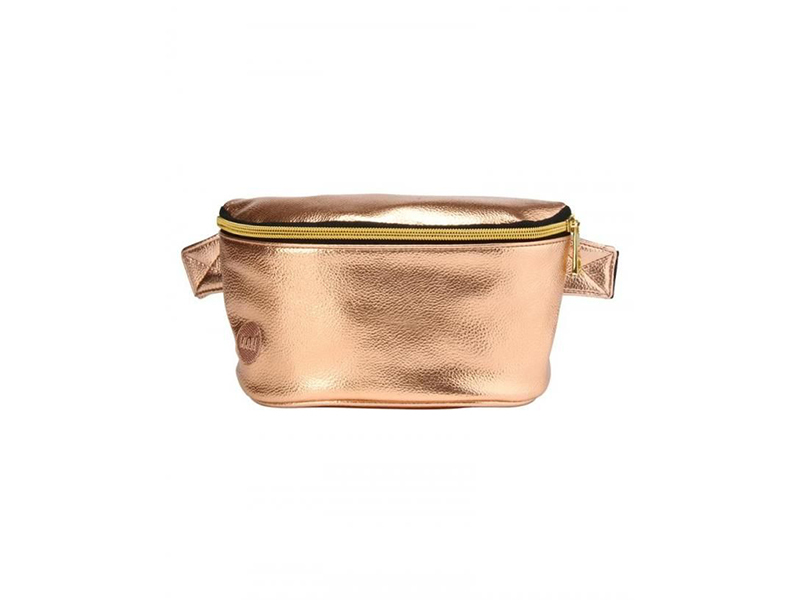 Mi-Pac Bum Bag Metallic Rose Gold