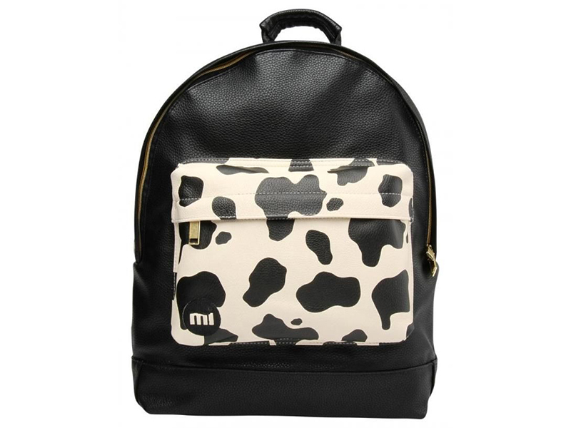 Mi-Pac Cow Pocket Cream/Black Hátizsák