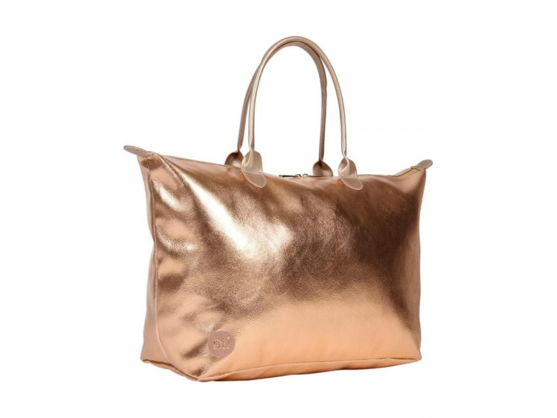 Mi-Pac Weekender Metallic Rose Gold