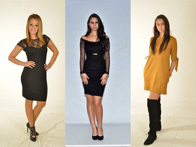 Divatos ruhák alkalmi- és mindennapi viselethez 34-46 méret között / változatos, nőies fazonok, magyar tervezőtől