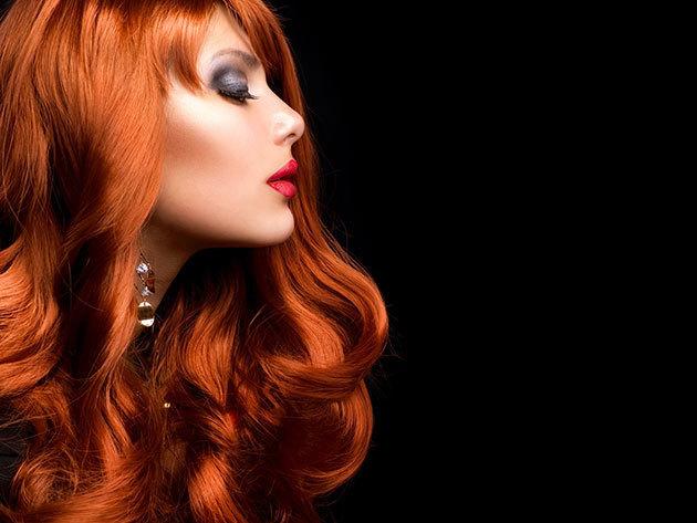 Mosás, fejmasszírozás, vágás, szárítás hosszú hajra, a Yes Hair Szalonban