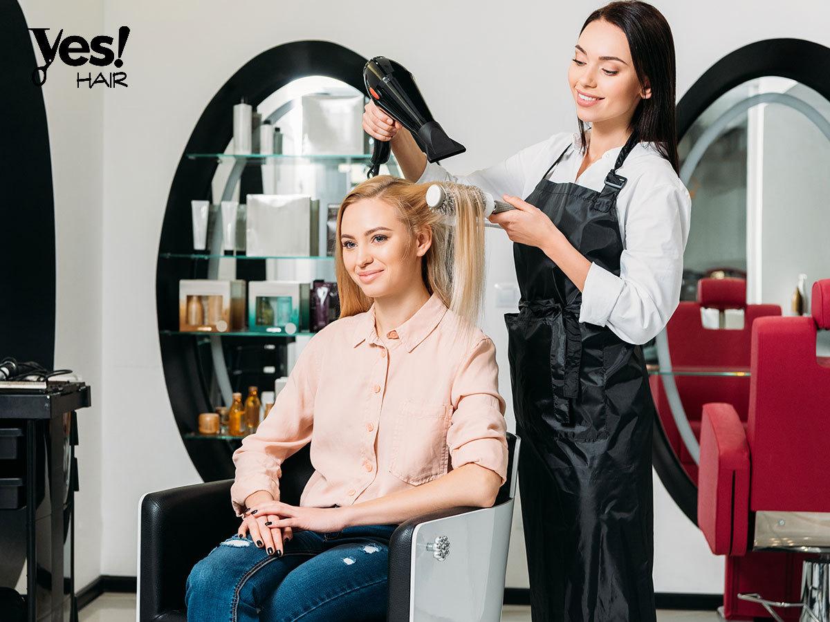 Hajvágás mosással, fejmasszázzsal és szárítással a Yes Hair Szalonban / II. ker. - Új frizura tavaszra!