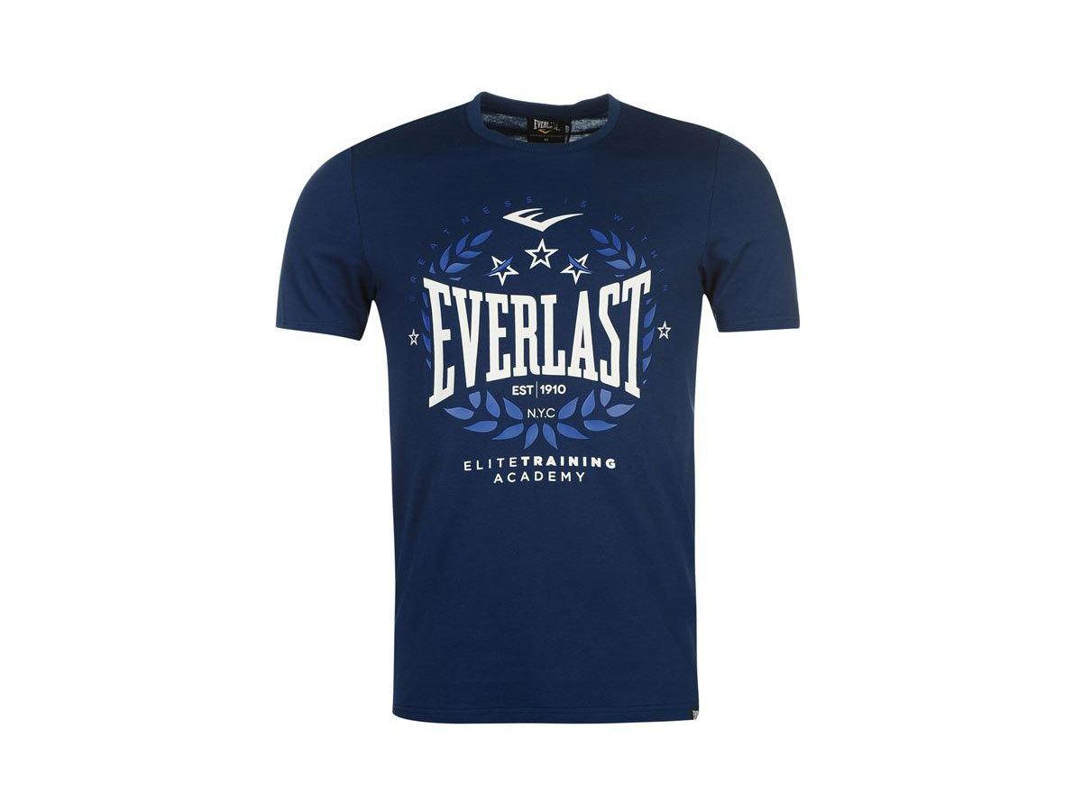 Everlast Logo férfi póló - 59501322 - sötétkék - L