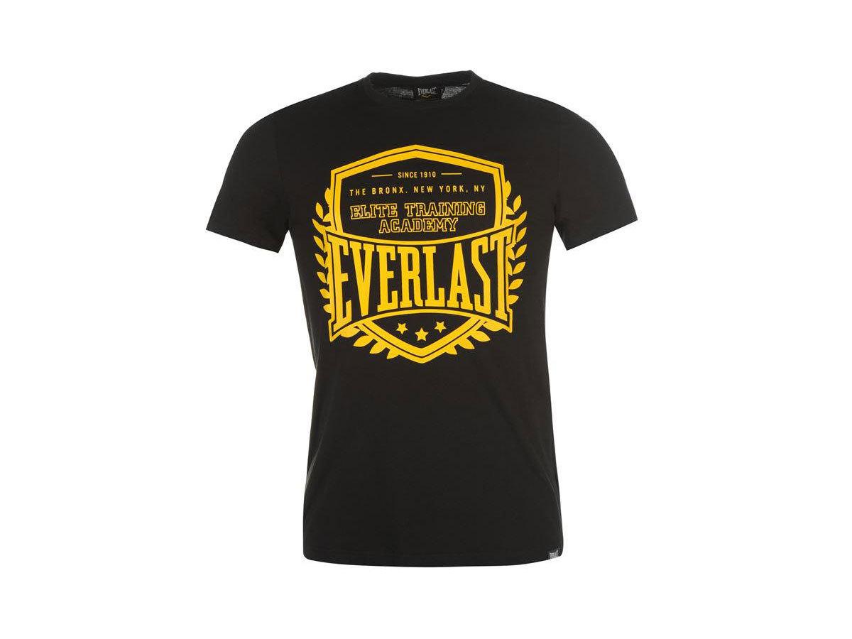 Everlast Logo férfi póló - 59501303 - fekete - L