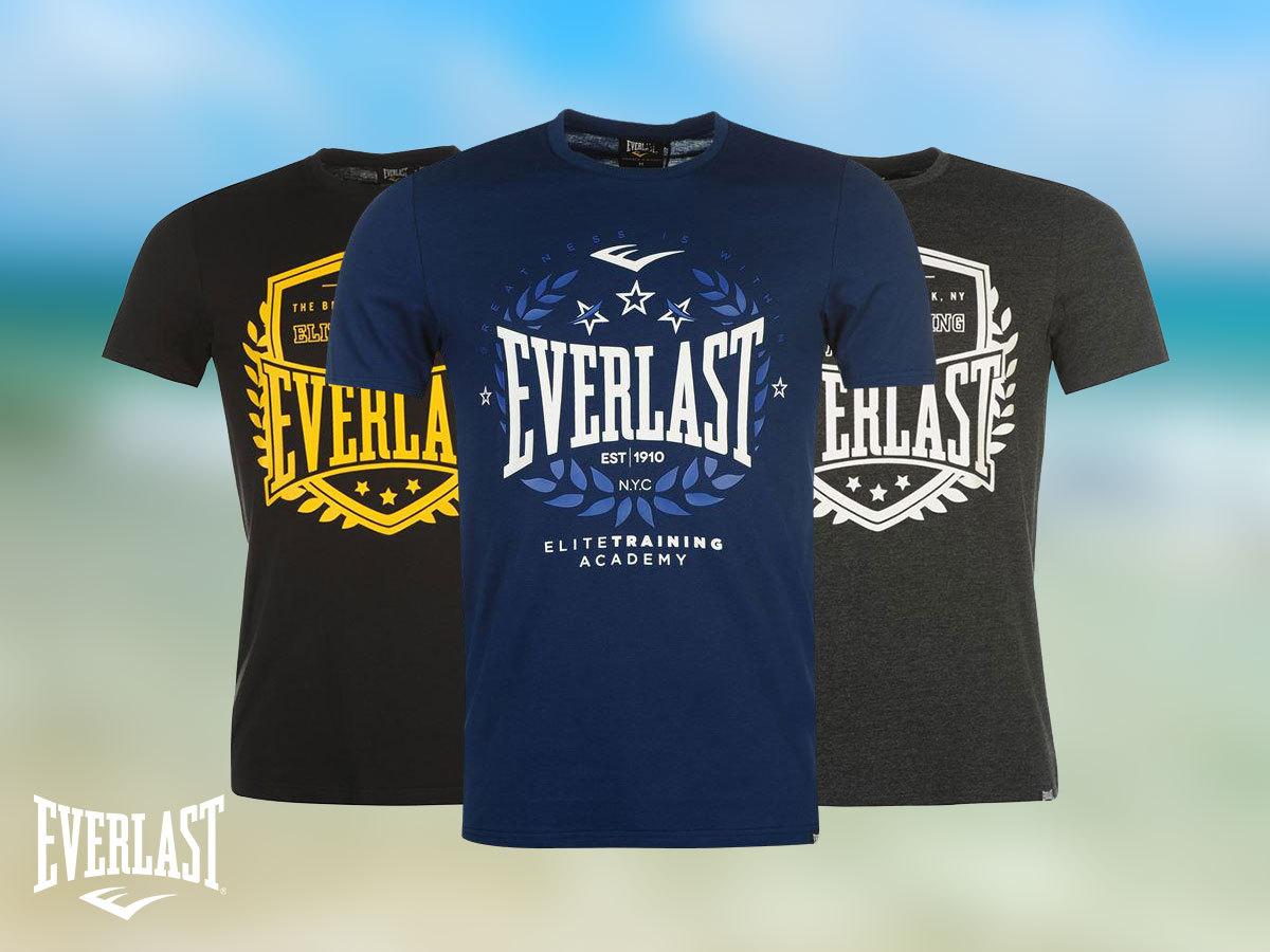 Everlast Logo férfi póló - pamut anyag e24a818bad