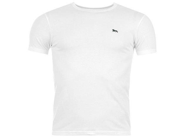Lonsdale férfi T-shirt - 42706201  fehér póló - L