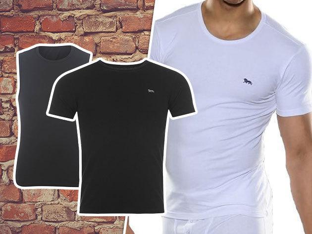 Lonsdale rövid ujjú póló és trikó férfiaknak (S-XXL) alsóruházatként is viselhető holmik, puha pamut anyagból