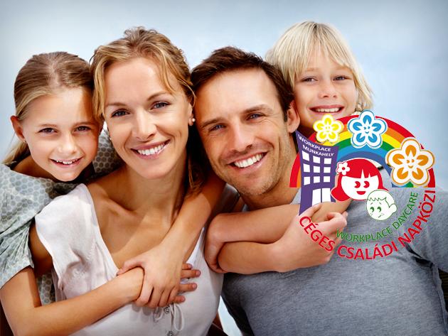 A céges családi napközi megoldja a dolgozó szülők gyermekelhelyezési problémáit.
