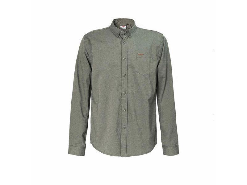 Lee Cooper Twill férfi hosszú ujjú ing - kő színben - 55952899 - L
