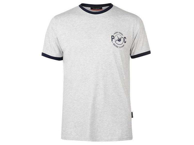 Pierre Cardin Ringer férfi póló - 59971504 zab színű - L