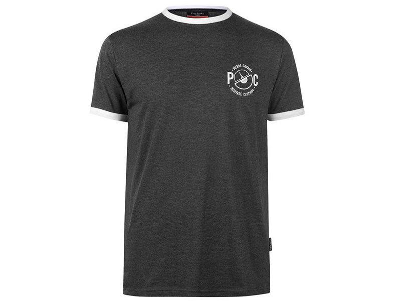 Pierre Cardin Ringer férfi póló - 59971526 szürke - L