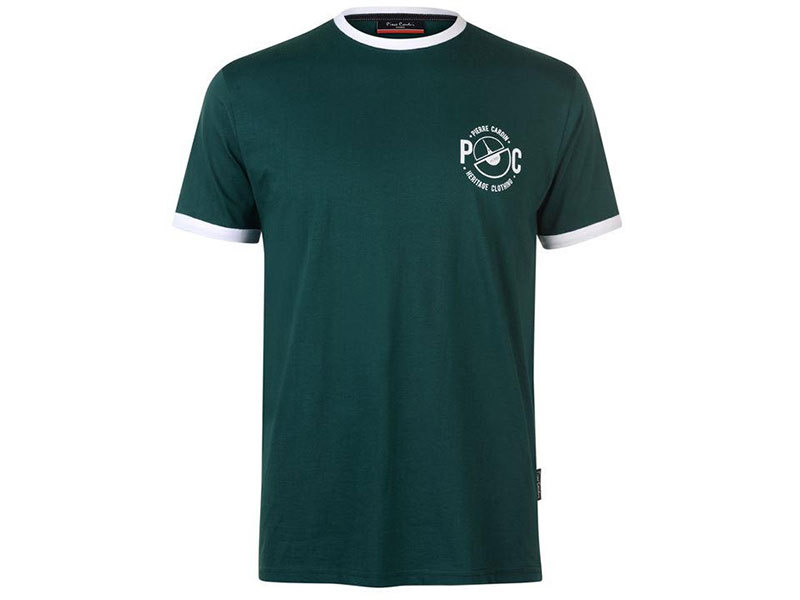 Pierre Cardin Ringer férfi póló - 59971516 zöld - L