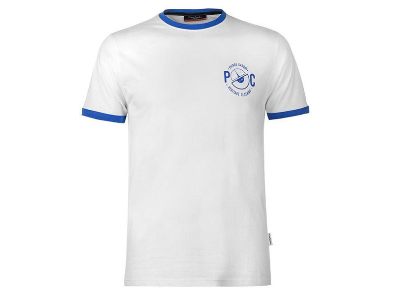 Pierre Cardin Ringer férfi póló - 59971501 fehér - L