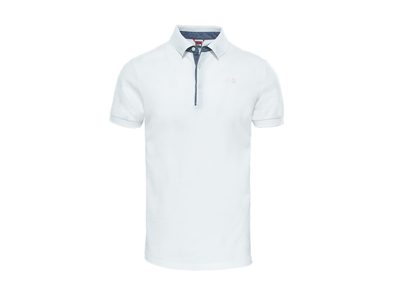 The North Face férfi PIQUE PÓLÓ M PREMIUM POLO PIQUE TNF WH/GA WH - T0CEV4TAD (UTÁNRENDELÉSRE) - XL