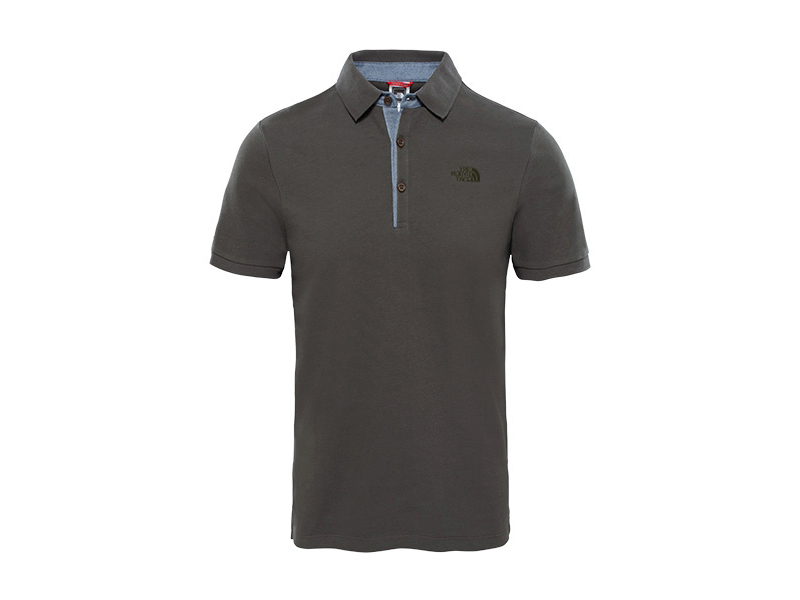 The North Face férfi PIQUE PÓLÓ M PREMIUM POLO PIQUE NEW TAUPE GREEN - T0CEV421L (UTÁNRENDELÉSRE) - L