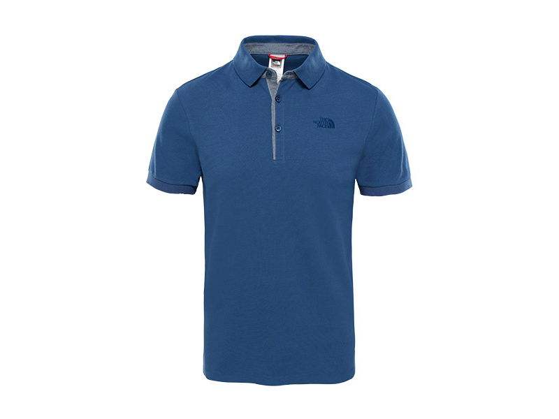 The North Face férfi PIQUE PÓLÓ  M PREMIUM POLO PIQUE SHADY BLUE - T0CEV4HDC (UTÁNRENDELÉSRE) - L