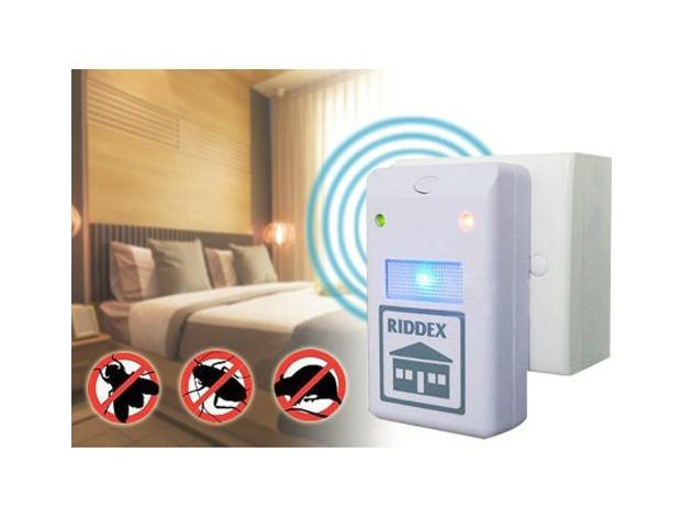 Riddex Plus elektromos, ultrahangos rágcsáló- és rovarriasztó készülékek (2 db)/ Tartsd távol a kártevőket!