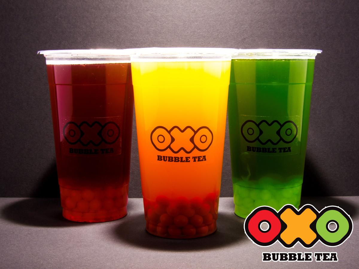 OXO Bubble Tea - frissítő gyümölcsös vagy különleges krémes frissítő / beváltható Budapesten és 5 nagyvárosban az OXO Bárokban