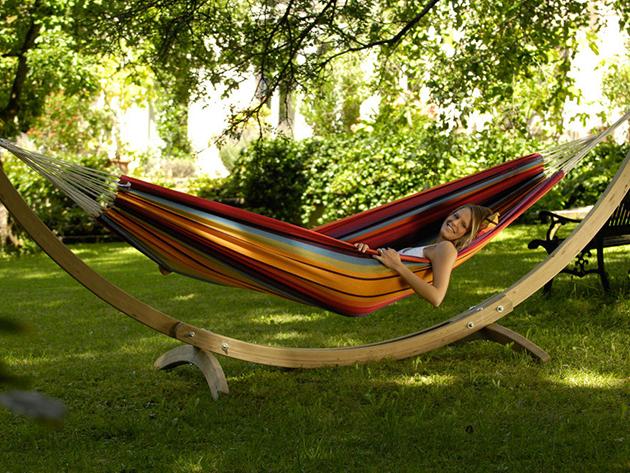 Függőágy 2 személy részére, nagy méretben - Csempészd be a nyaralás élményét otthonodba és relaxálj!