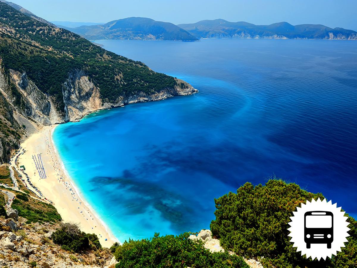 Görögországi nyaralás utazással és szállással a főszezonban: Olimpic Beach PANORAMA apartmanház*** 7 éjszaka szállással, önellátással / fő - AKÁR LAST MINUTE ÁRON!!!
