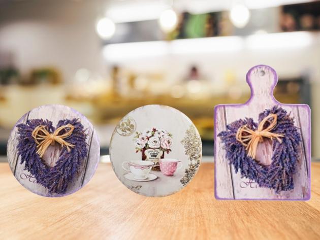 Vágódeszkák és edényalátétek - vintage stílusú kiegészítők, melyek nem csak praktikusak, hanem fel is dobják konyhádat