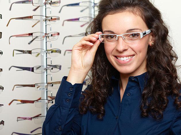 Komplett szemüveg normál 1,5-ös lencsével