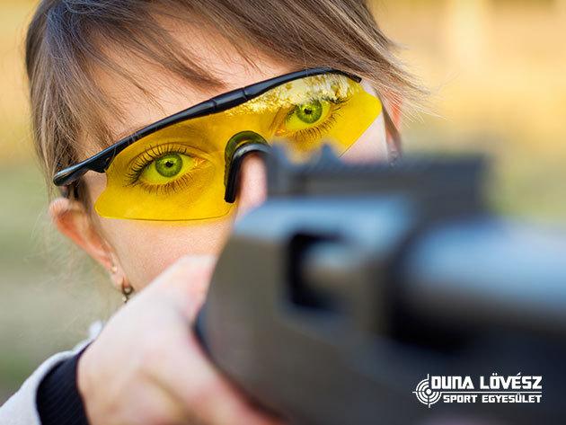 Családi csomag 5-6 fő részére : 120 lövés nagy kaliberű fegyverekkel