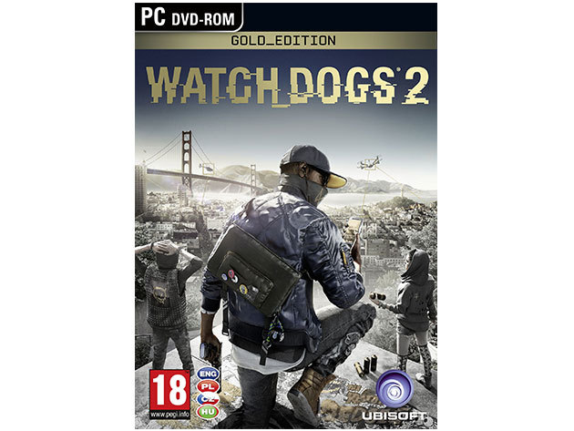 Watch Dogs 2 Gold Edition - PC WATCHDOGS2GOLDEDPC