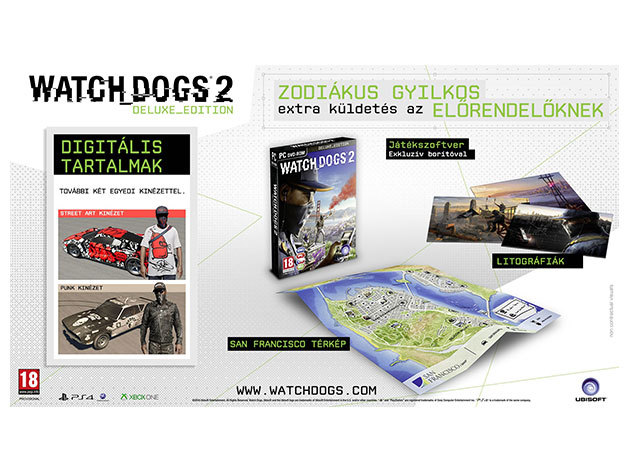 Watch Dogs 2 Deluxe Edition - PC WATCHDOGS2DELEDPC