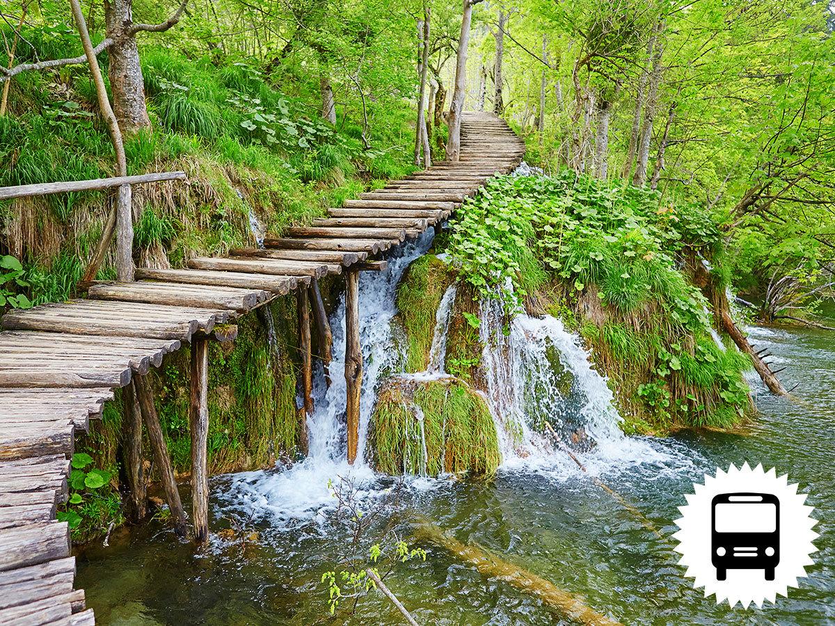Plitvicei tavak - buszos utazás a világ egyik legszebb tórendszeréhez májusban és szeptemberben / fő