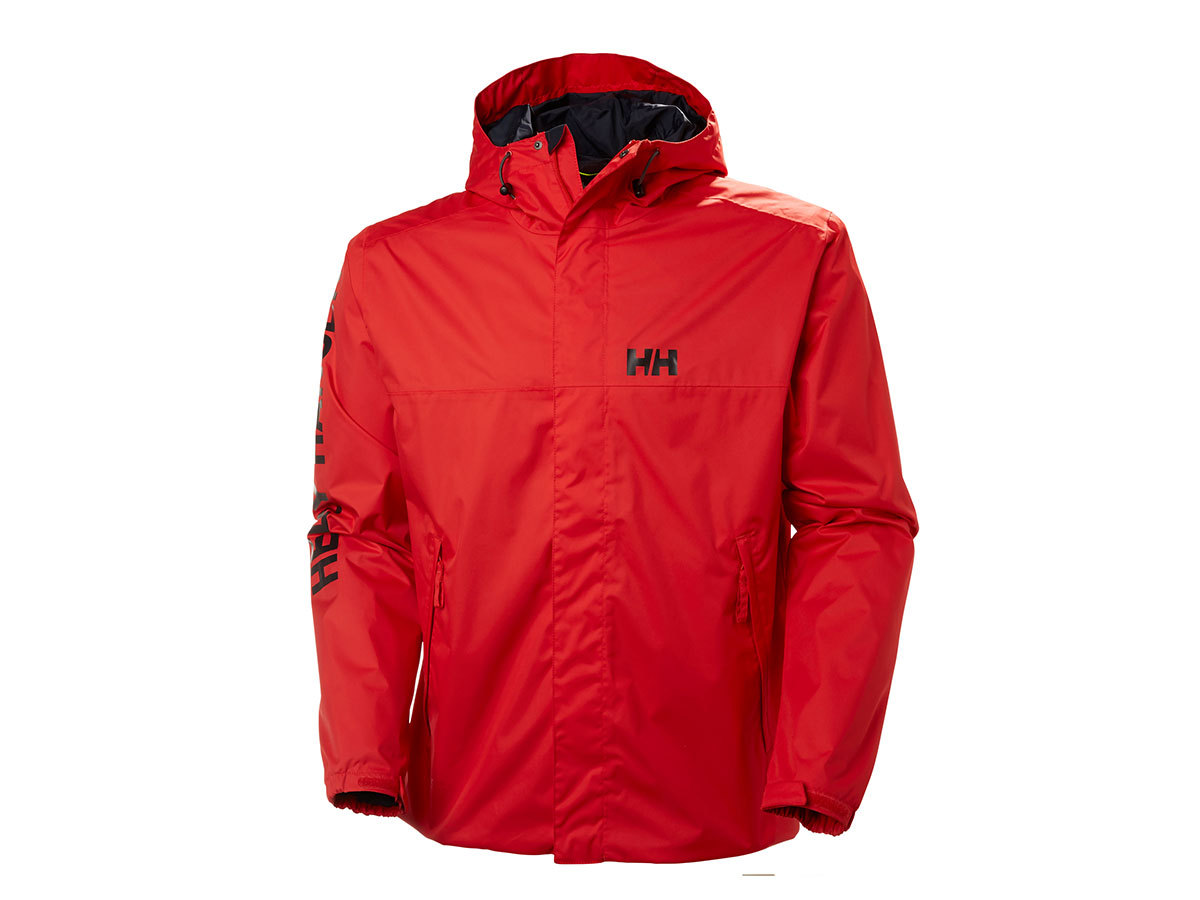 Helly Hansen ERVIK JACKET ALERT RED XL (64032_223-XL)