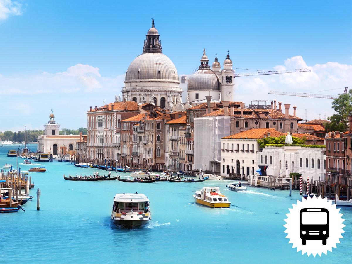 Velence, Olaszország: non-stop utazás busszal a gondolák városába / időpont: 2018. júni. 29-júli. 1.
