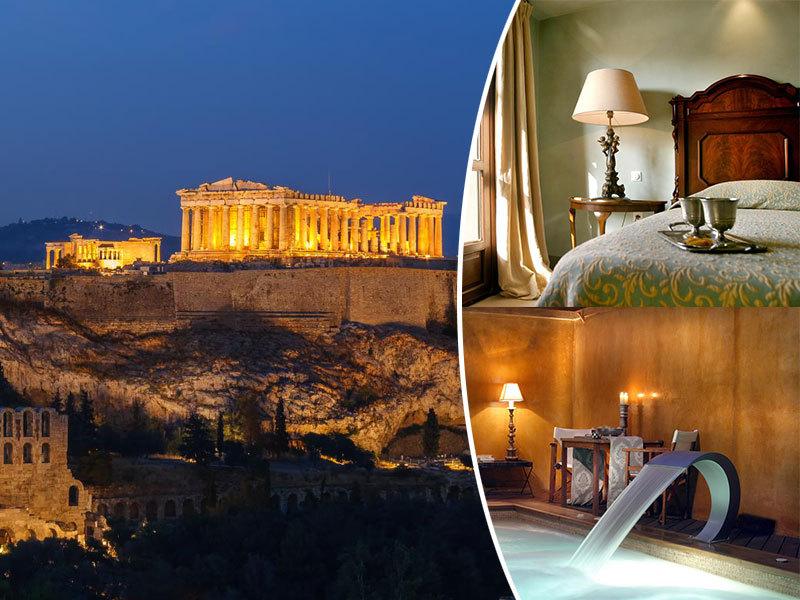 Görögország szállás, Le Convivial Luxury Suites and Spa***** 6 vagy 8 nap félpanziós ellátással 2 fő részére, október 30-ig