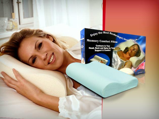Az anatómiai párna nyugodt alvást és kipihent reggeleket hoz az életedbe.
