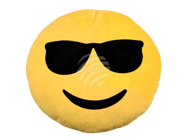 Napszemüveges emoji párna RS-KI-04-02