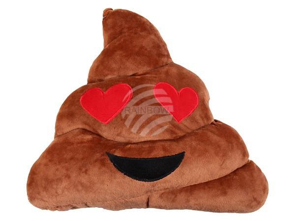 Szerelmes kaki emoji párna RS-KI-22