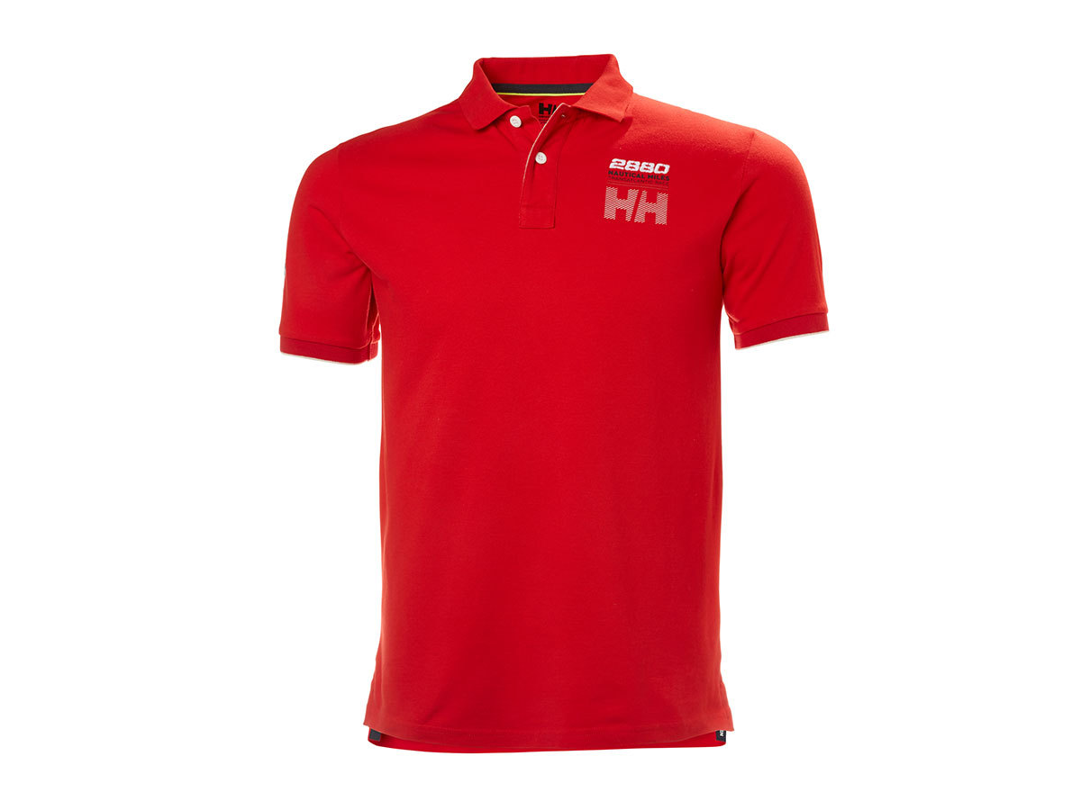 Helly Hansen HP CLUB2 POLO FLAG RED M (33966_110-M) - AZONNAL ÁVEHETŐ
