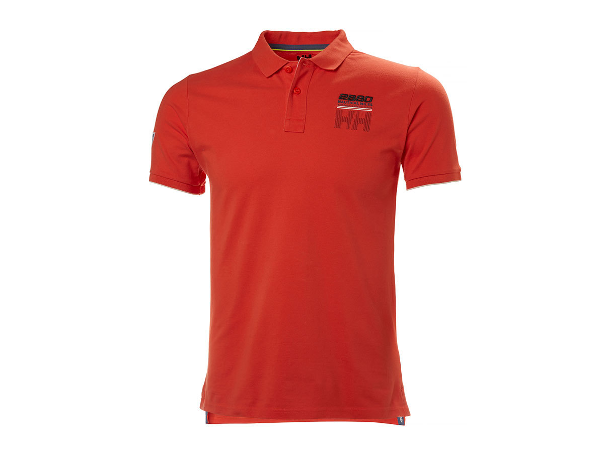 Helly Hansen HP CLUB2 POLO PAPRIKA XXL (33966_118-2XL)