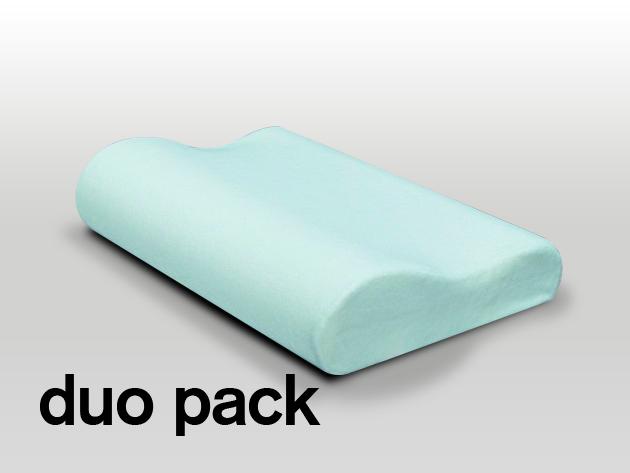 Anatómiai párna - mikroszálas (plüss) huzattal duo pack (2 db)