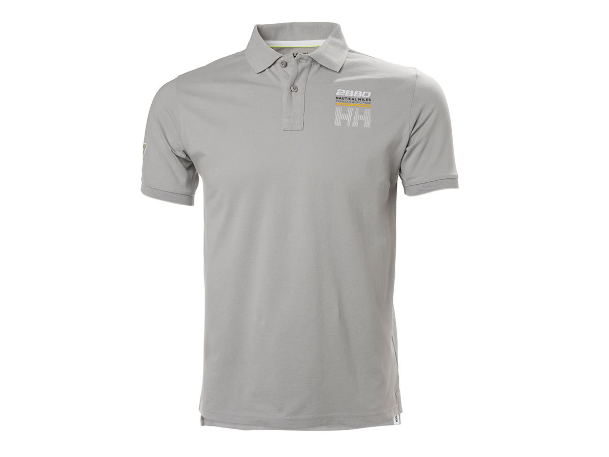 Helly Hansen HP CLUB2 POLO SILVER GREY M (33966_820-M)