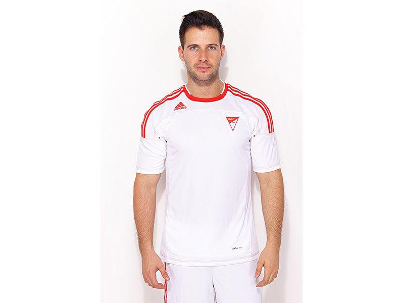 Adidas TF PW L/S - futballmez, fehér U37432 - L