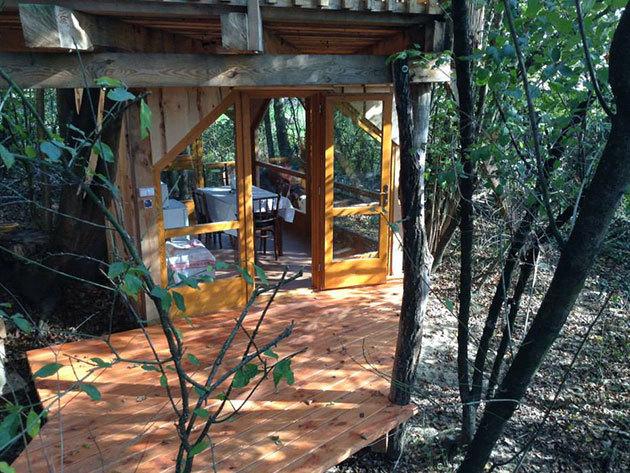 LA CABANA   - fűthető lombhàz az erdőben - 3 éjszaka 2 fő részére reggelivel